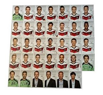 Dfb Autogrammkarten Der Nationalspieler